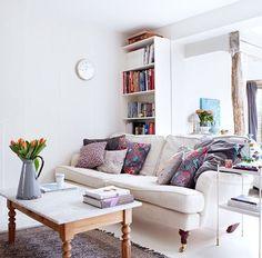 Cosy & fresh living room housetohome.com