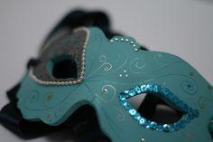 How to make a DIY masquerade mask.