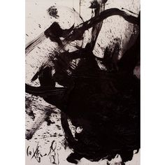 Texture Series: Painting by Kazuo Shiraga, Kan'unchō, 1984.