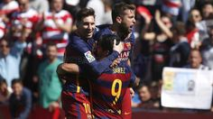 Granada CF - FC Barcelona (0-3)   FC Barcelona