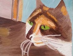 Bella. Oil Paint on canvas panel. By Kelli Cantrell. http://kcantrartideas.weebly.com/