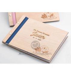 Libro de Firmas Primera Comunión Madera Signature Book, First Holy Communion, Calendar Date