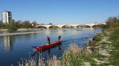 Le vie d'acqua, prima tappa: Vigevano - Pavia. Ecco l'arrivo a Pavia #experiaitalia #raiexpo #padiglioneitalia #politecnicodimilano #expo2015 #viaggio #barca #Po #fiume #italia #viaggio #Vigevano #Pavia