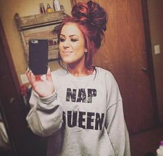 Chelsea is my favorite teen mom she's a terrific mom her hair is beautiful her style is perfect Chelsea Deboer, Love Hair, Pretty Hairstyles, Wedding Hairstyles, Men's Hairstyle, Funky Hairstyles, Formal Hairstyles, Fall Hair, Hair Dos