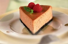 Chocolate Cheesecake recipe with less sugar, carbs and fat than the regular version. Diabetic Gourmet Magazine - Diabetic Recipes. DiabeticGourmet.com