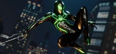 Marvel's Spider-Man Stealth Big Time 2 by JCRPrints on DeviantArt Spiderman Ps4 Wallpaper, Marvel Wallpaper, Spectacular Spider Man, Amazing Spider, Vulture Marvel, Deviantart Comic, Spider Man 2018, Marvel Moon Knight, Stealth Suit