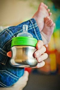 Klean Kanteen Stainless Steel 5oz Baby Bottle