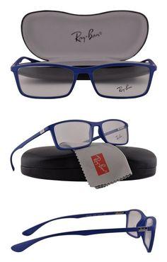 fc60a4d72ca16  99.99 - Ray Ban RX7048 Eyeglasses 56-17-145 Matte Blue 5439 RX 7048
