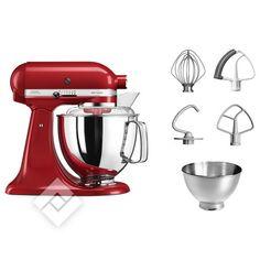 KITCHENAID ARTISAN 4.8L EMPIRE RED (5KSM175PSEER) Kitchenaid Artisan, Kitchen Aid Mixer, Kitchen Appliances, Red Apple, Products, Empire, Elegant, Google, Shopping