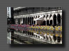 Aqua alta in Venedig