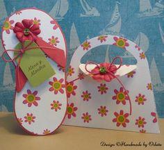 Cute purse idea to use as an invitation... Beach & Pool - Handmade by Odette, LLC