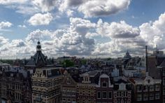 Clouds above Amsterdam.