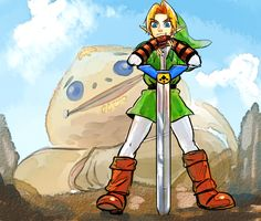 The Legend of Zelda: Ocarina of Time / Biggoron Sword  / 「ゼルダの伝説まとめ」/「梟」の漫画 [pixiv]