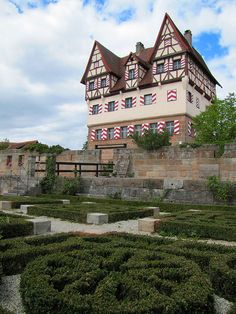 Neunhof Castle, Nuremberg, Germany-- guessing the Beihl ancestors were not a part of this, but who knows?
