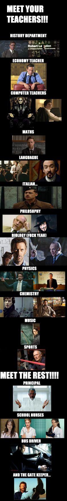 The Coolest Teachers On Earth