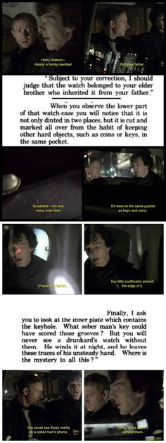 Canon parallels/references in A Study in Pink - Imgur