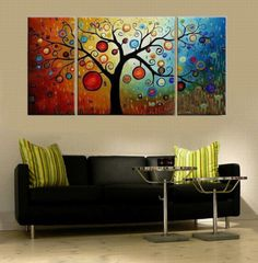 Modern Oil Paintings on canvas abstract painting -set12008 [set12008] - $60.00 : Modern oil paintings,abstract oil paintings, handmade oil paintings wholesale and retail,custom oil paintings,oil paintings reproduction