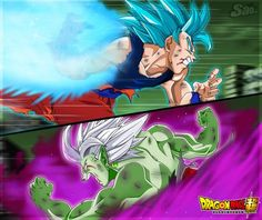 Goku Vs Zamasu #2 by SaoDVD #dragonball #devianart