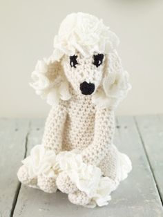 Poodle Princess: free easy level pattern