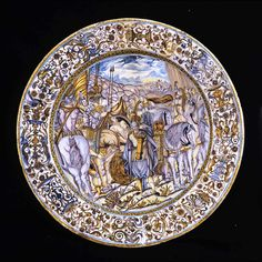 Castelli ceramics : artistic ancient pottery from Italy, Places In Italy, Glazes For Pottery, Ancient Artifacts, 16th Century, Decorative Plates, Objects, Victorian, Artist, Decoupage