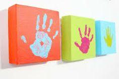 manualidades arte con huellas de manos y pies dia del padre - Buscar con Google