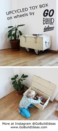 I bought this wooden box as an old army's ammunition crate and converted it into a toy storage for the kids. I gave it this white paint and added some wheels, so the kids can move this more freely. I love the fact this once army-used box now has a peaceful purpose.  #interiorinspiration #home #interior #homeinspo #furniture #furnituredesign #diyfamily #diyfurniture #diy #simplelife #minimal #storage #brio #interior #kids # kidsroom
