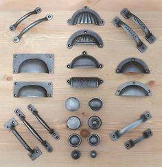 Cast-Iron-Chest-Drawer-Door-Handles-Knobs-Wardrobe-Kitchen-Cupboard-Cabinet