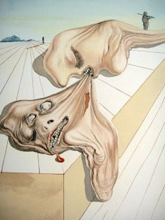 From Salvador Dali's Divine Comedy series (and a personal favorite)