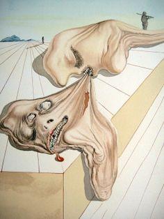 From Salvador Dali's Divine Comedy series