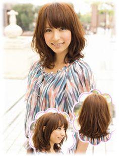 Japanese medium length hairstyle