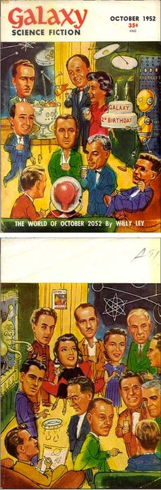 ED EMSHWILLER - The World of October 2052 by Willy Ley - Oct 1952 Galaxy Science Fiction - print by efanzines.com