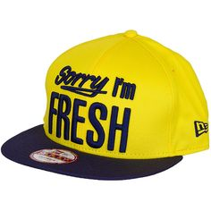 New Era 9FIFTY Snapback Cap Sorry I`m Fresh yellow/navy ★★★★★