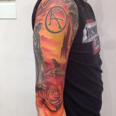 Damn it, this guys tattoos are better than mine.