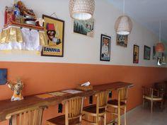 Inside of Café Le Petit Paris Ubud