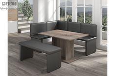 COTTI kuchynský set, šedý Outdoor Furniture Sets, Outdoor Decor, Dining Bench, Home Decor, Decoration Home, Table Bench, Room Decor, Interior Design, Home Interiors