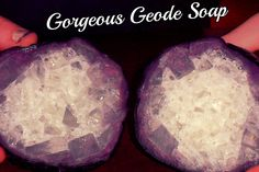 Gorgeous Geode Soap Tutorial