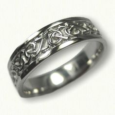 Celtic Adare Knot Wedding rings in white gold, platinum, yellow gold & two tone - create Your wedding rings - make your dream wedding rings a reality Celtic Wedding Bands, Wedding Rings, Celtic Knot, Knots, Dream Wedding, Wedding Inspiration, White Gold, Engagement Rings, Jewelry