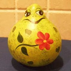 Picture of American Made Hand Painted Gourds Frog