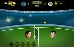 Topçu kafalar şampiyonluk maçına çıkıyor. Bu maçta istediğin oyuncuyu seç ve maçı kazanarak şampiyonluğa ulaş http://www.kafatopuoyunu.com/topcu-kafalar