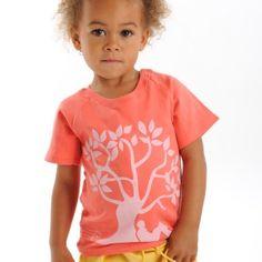 T-shirt coton bio unisex Conscients http://www.conscients.com/shop/fr/vetement-bio-fille/36-t-shirt-bio-corail-tree-hug-conscients.html