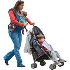 Mom+Stroller+Kids.png (562×562)