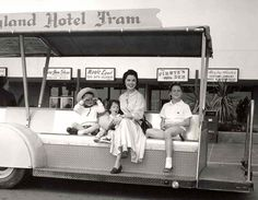 Shirley Temple at Disneyland with her children