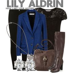 Inspired by Alyson Hannigan as Lily Aldrin on How I Met Your Mother.