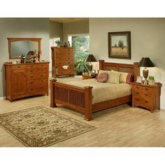 Found it at Wayfair - Heartland Manor Panel Customizable Bedroom Set