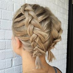 Look Over This Even short hair can pull of braids!  Double Dutch braids!  The post  Even short hair can pull of braids!  Double Dutch braids!…  appeared first on  Hair and Beauty .