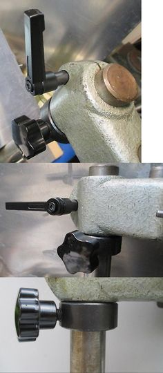 UNIMAT DB//SL Headstock Spindle Clamping Levers BLACK