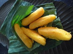sorrullitos. Yummy! Fried Sweet Cornmeal fingers stuffed with cheese.