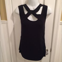 "NY&Co black top About 27"" long. Worn once. New York & Company Tops Tank Tops"