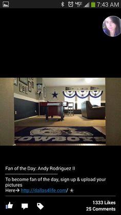 Dallas cowboys room designs on pinterest dallas cowboys dallas