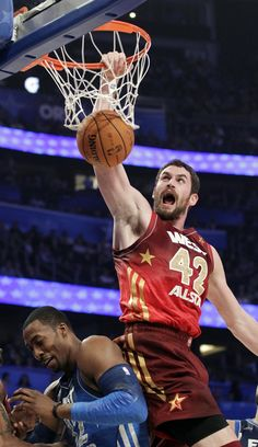 Kevin Love NBA All-Star Game